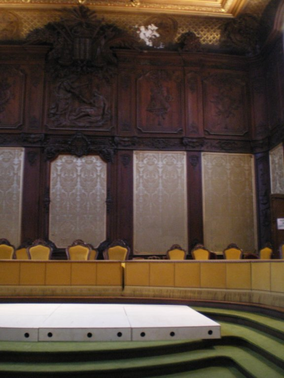 Back of the Salle de Parlement