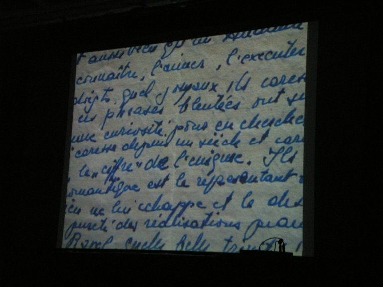 A letter of Lipatti's in the documentary film