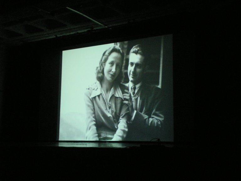 Lipatti and his wife Madeleine in the documentary film
