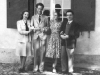with his wife Madeleine and Frank Martin and his wife
