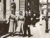 with his teacher Florica Musicescu and his fellow pupil Maria Fotino in Vienna, 1933